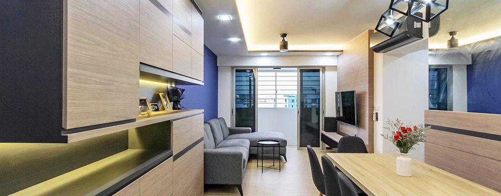 Modern HDB Living Room Design Ideas in Singapore