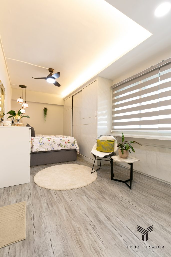 Bedroom Renovation in Singapore: How Much Does It Cost For a 3-room HDB Flat?