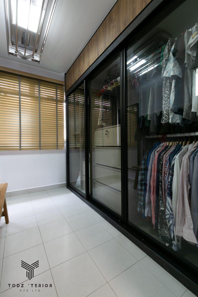 7 Singapore HDB Bedroom Design With Walk-In Wardrobe